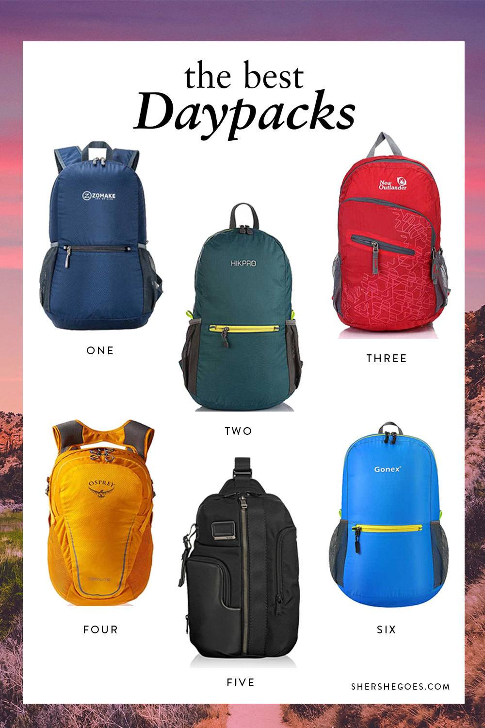 The Best Daypacks for Travel