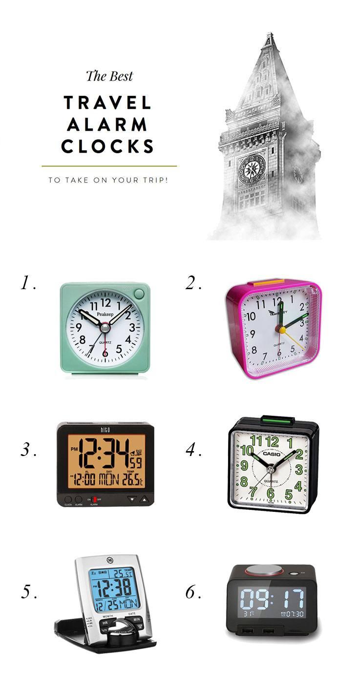 The Best Travel Alarm Clock