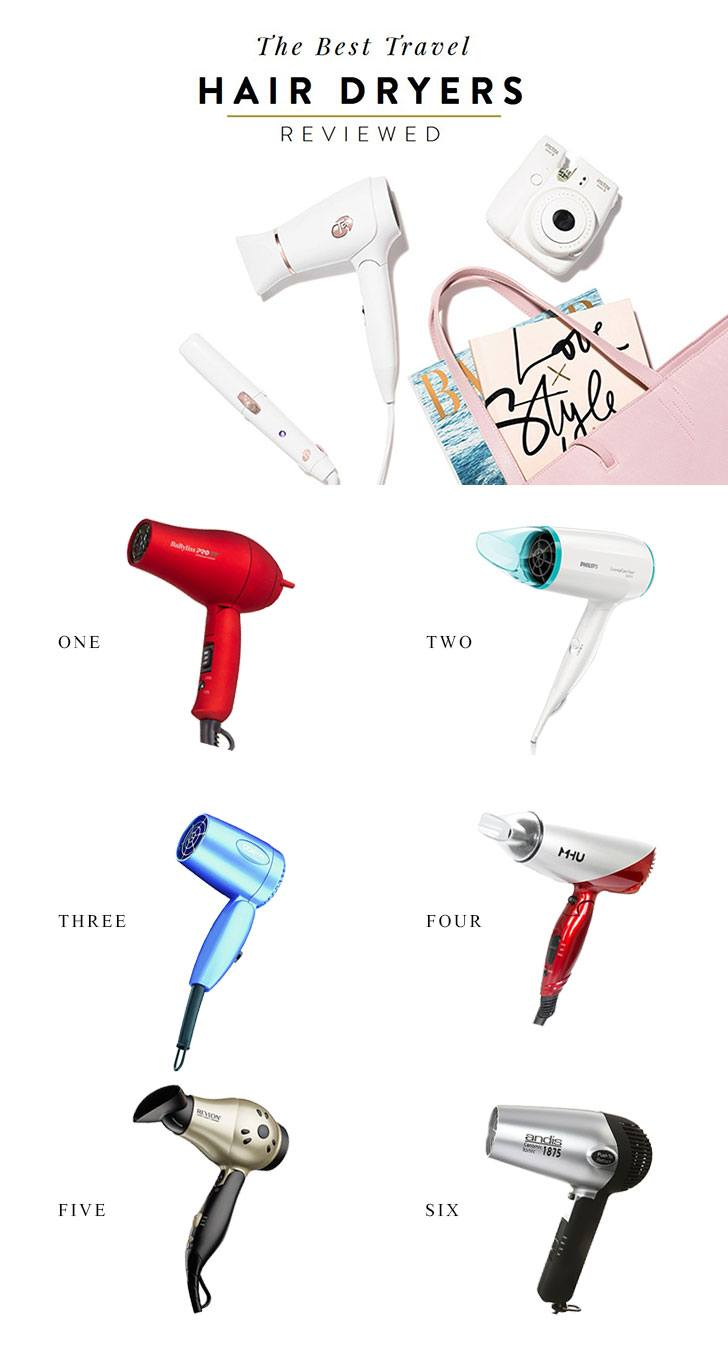 The Best Travel Hair Dryer 2017