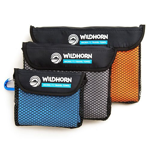 The Best Travel Towel WildHorn Outfitters Microfiber Quick Dry Travel