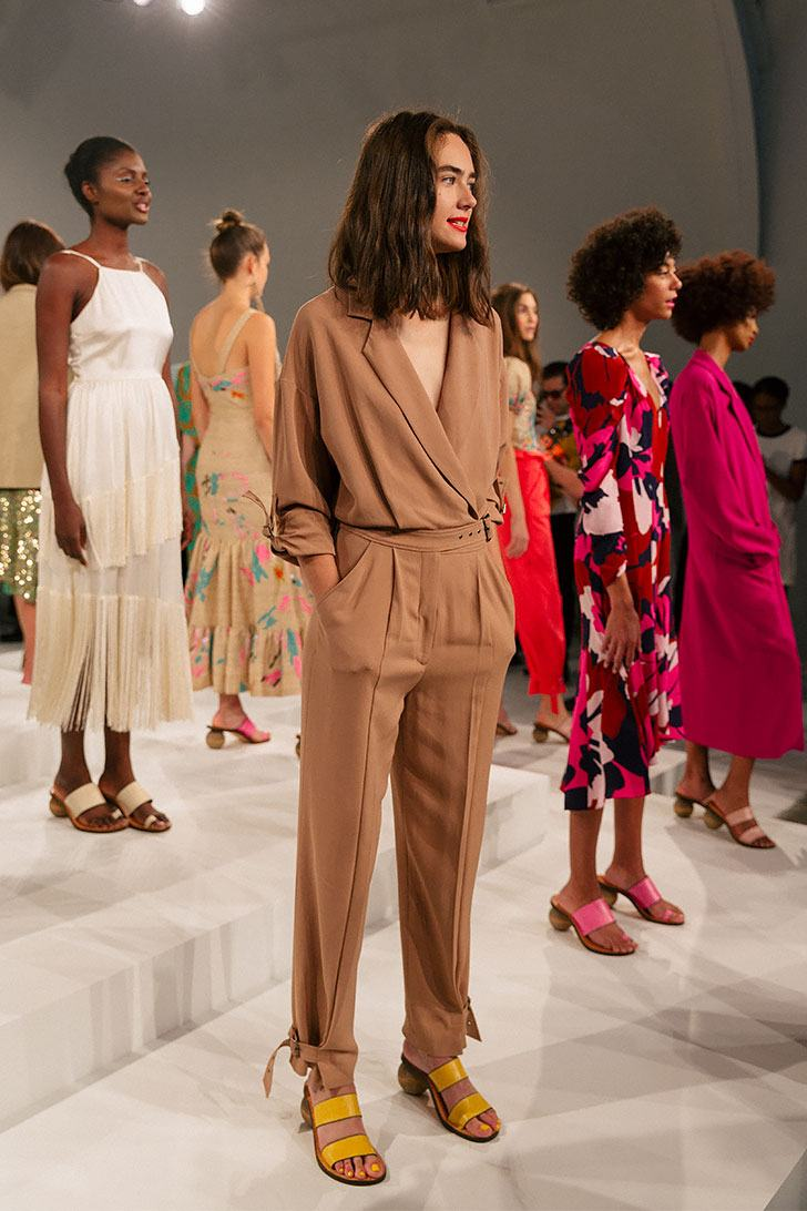 New York Fashion Week Tracy Reese Spring Summer 2018
