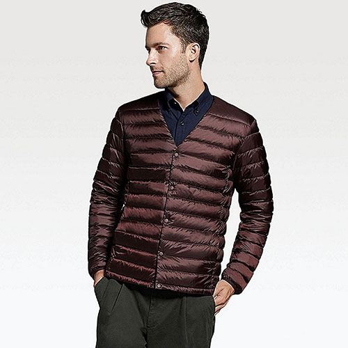 Mens UNIQLO Ultra Light Down Jacket