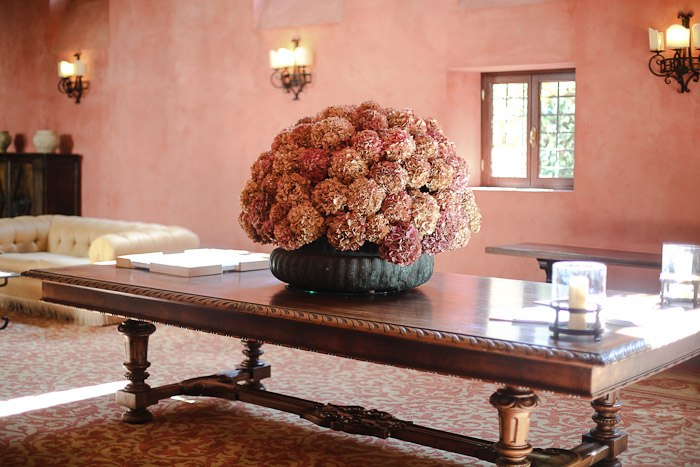 europe travel architecture bauer palladio interior decor flower flowers hydrangea vase table desk pink light