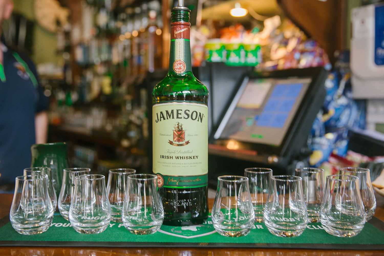 shots of jameson
