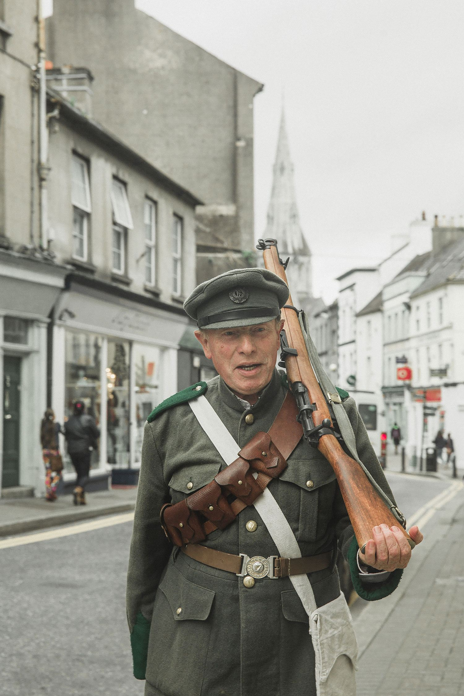 Wexford irish NRA soldiers