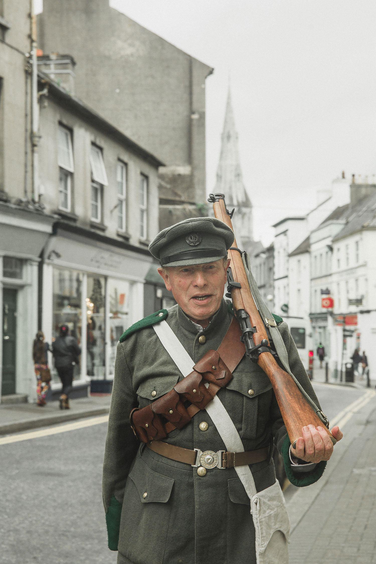 Wexford irish NRA soldiers