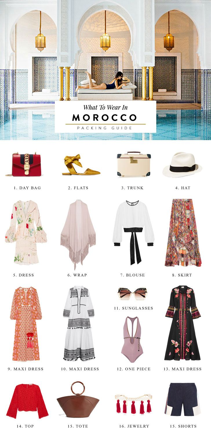 What To Pack for Morocco Outfit Ideas & Packing List