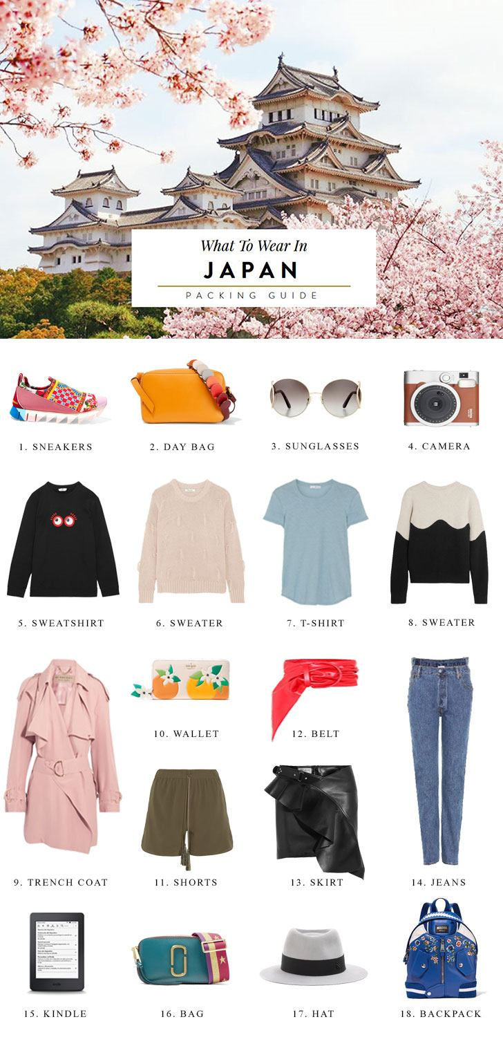 What to Bring to Japan Packing List