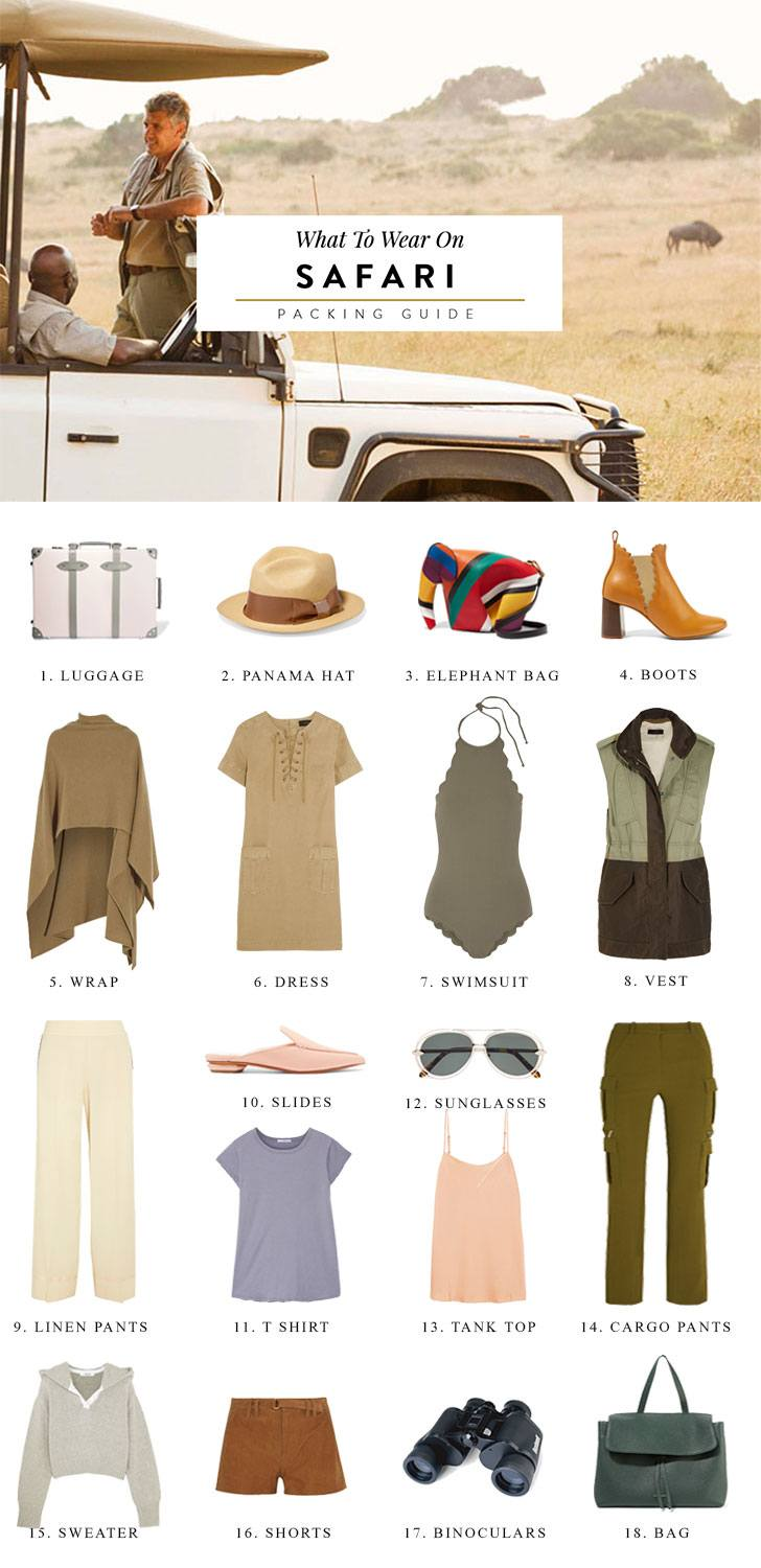 What to Wear on Safari 20+ Things You Absolutely Must Pack