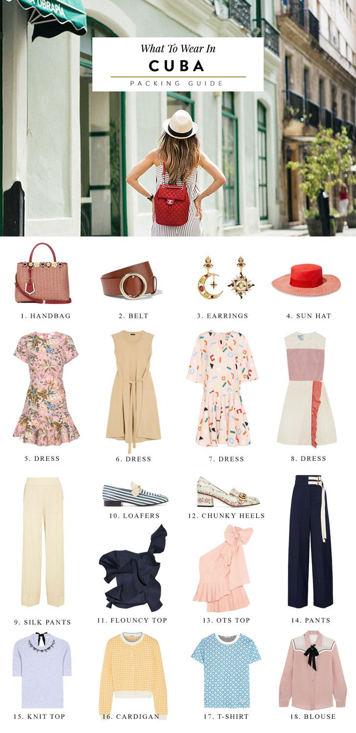 What to Wear in Cuba: Packing List + Suggested Outfits