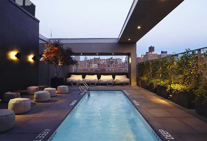 Where to Stay in NYC Hotel Americano Rooftop