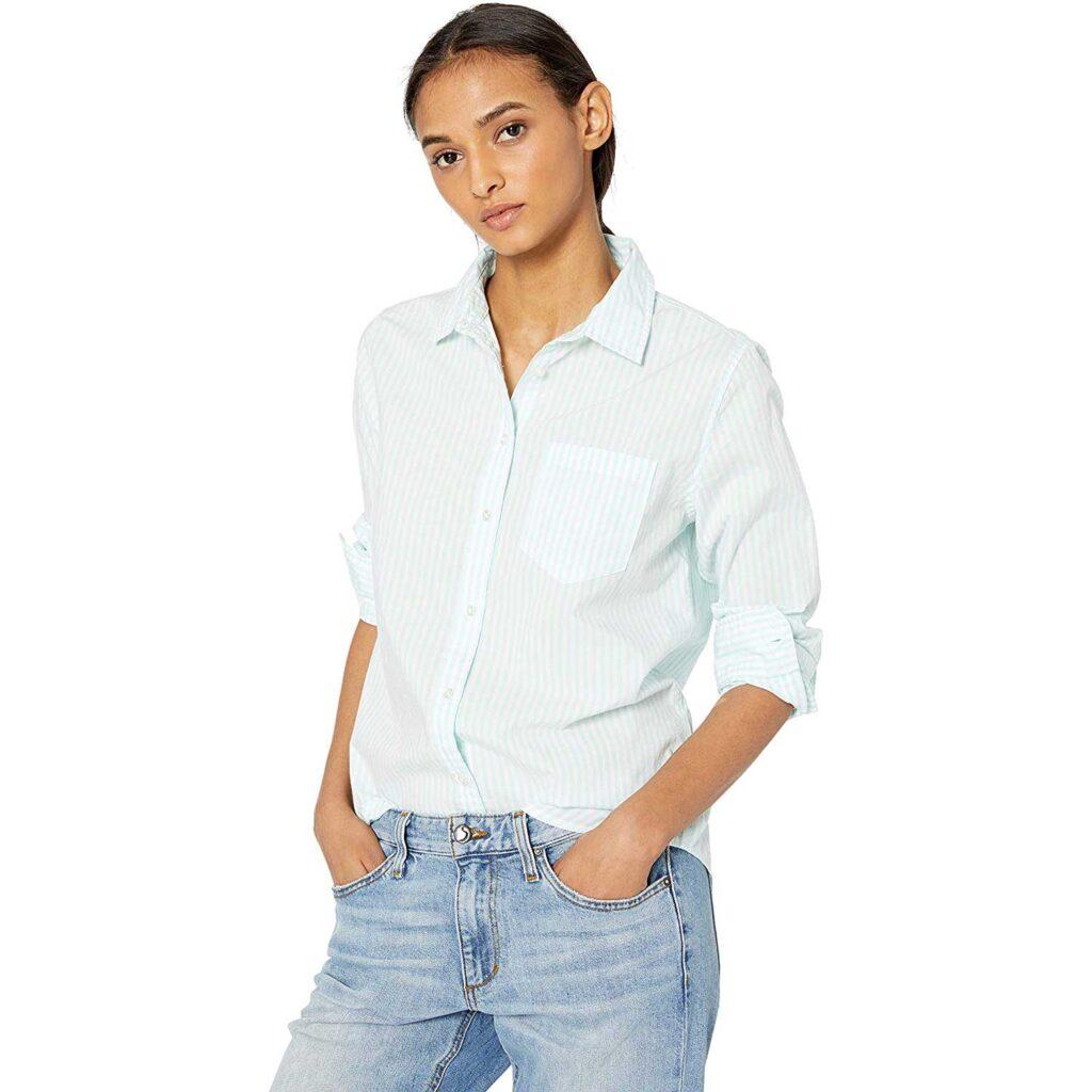 White-Button-Up-Shirts-Amazon-Essentials