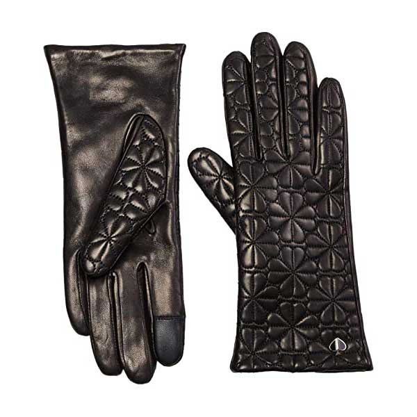 Womens-Leather-Gloves-Kate-Spade