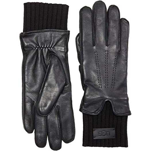 Womens-Leather-Gloves-UGG