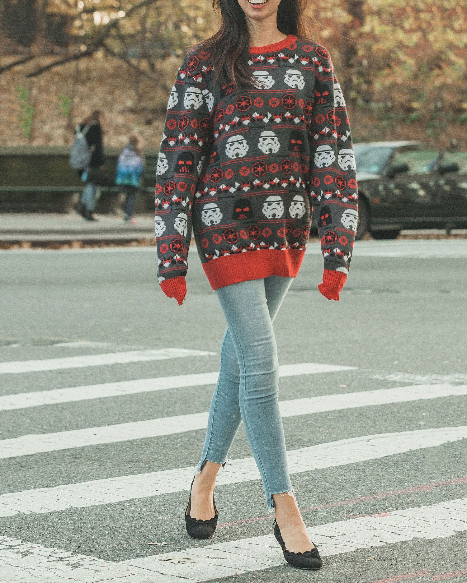 Womens Ugly Christmas Sweater Outfit Ideas