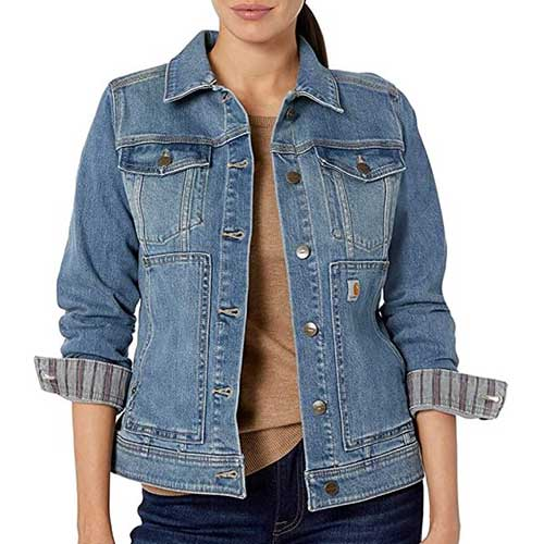 affordable denim jackets for women