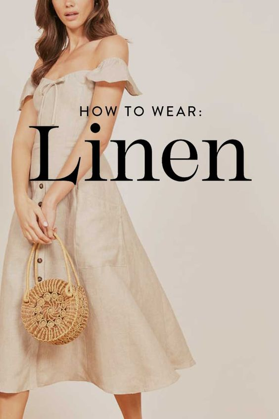 affordable linen dress
