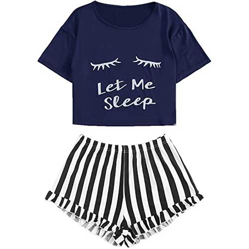 affordable pajama set amazon