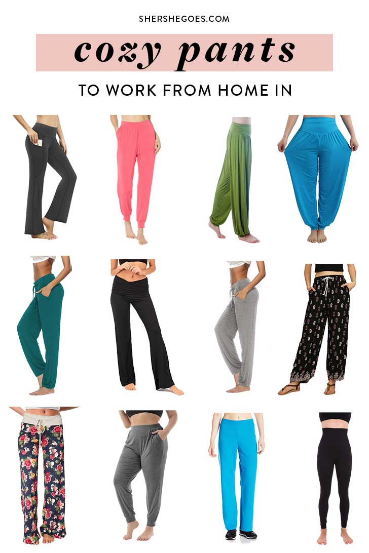 amazon fashion finds cozy pants