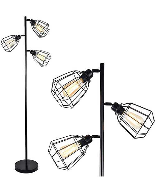 amazon floor lamp industrial