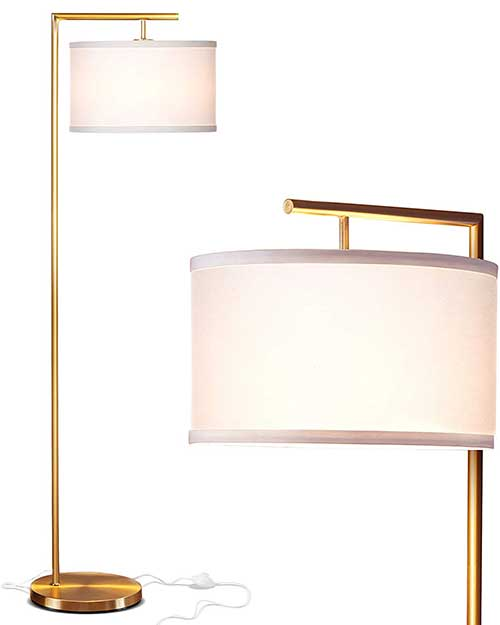 amazon floor lamp with drum shade