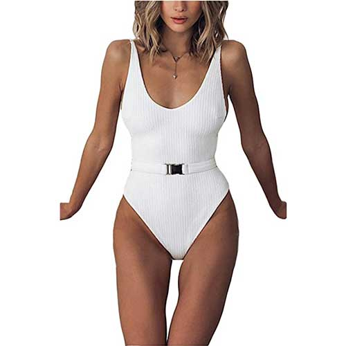 amazon-white-one-piece-bathing-suit-with-belt