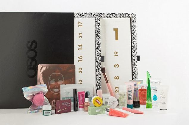 asos advent beauty calendar