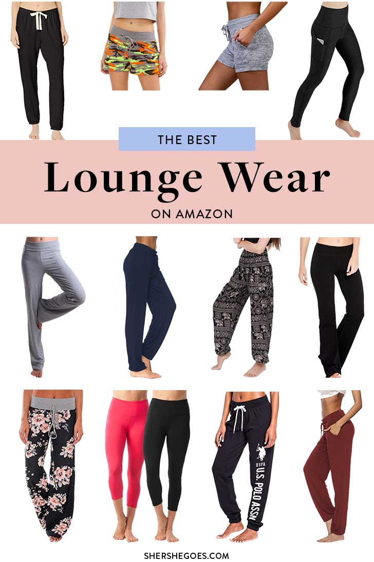 best amazon loungewear