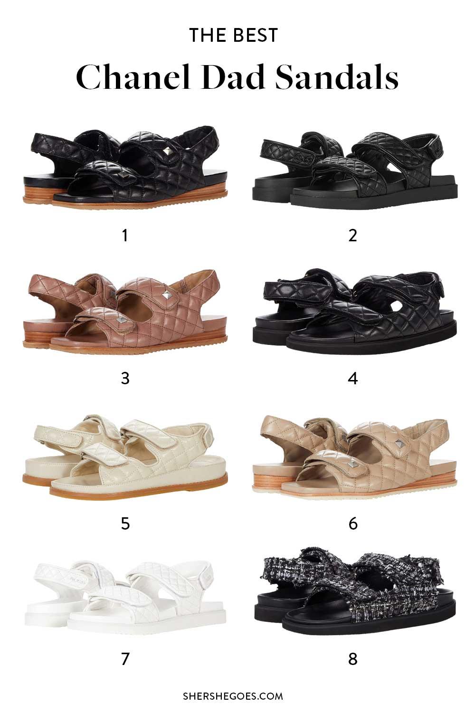 best-chanel-dad-sandals-dupe