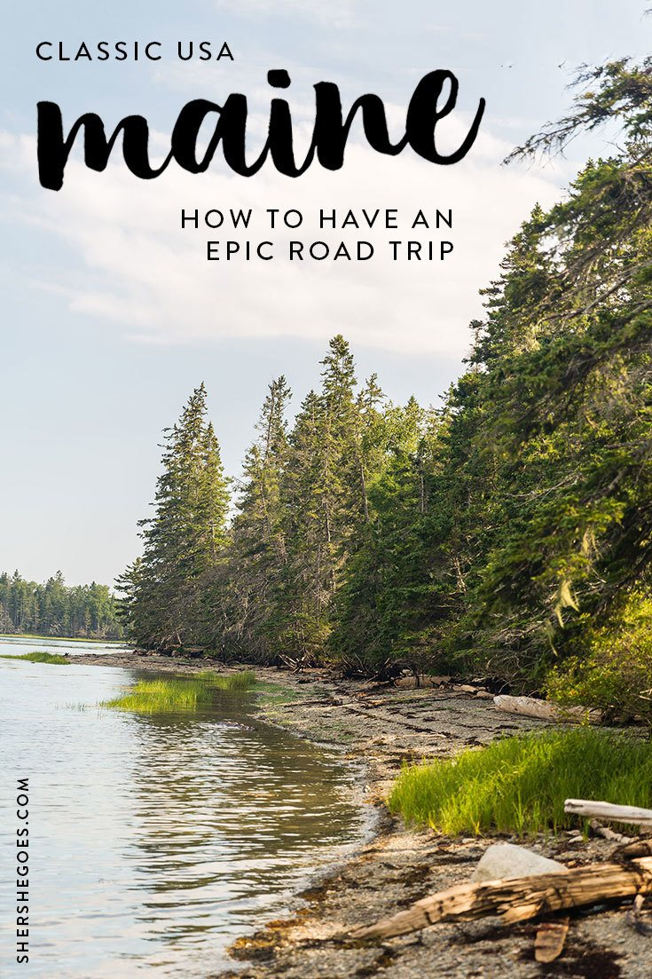 best coastal maine itinerary