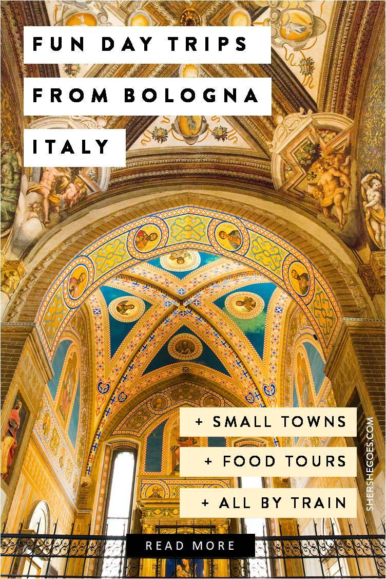 best day trips from Bologna by train