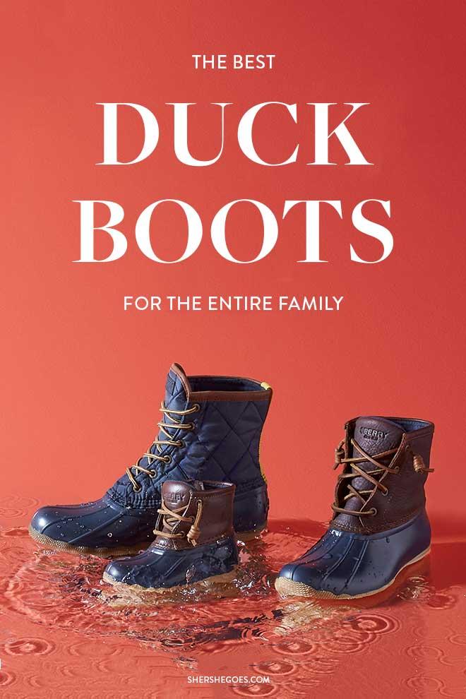 best-duck-boots-for-women