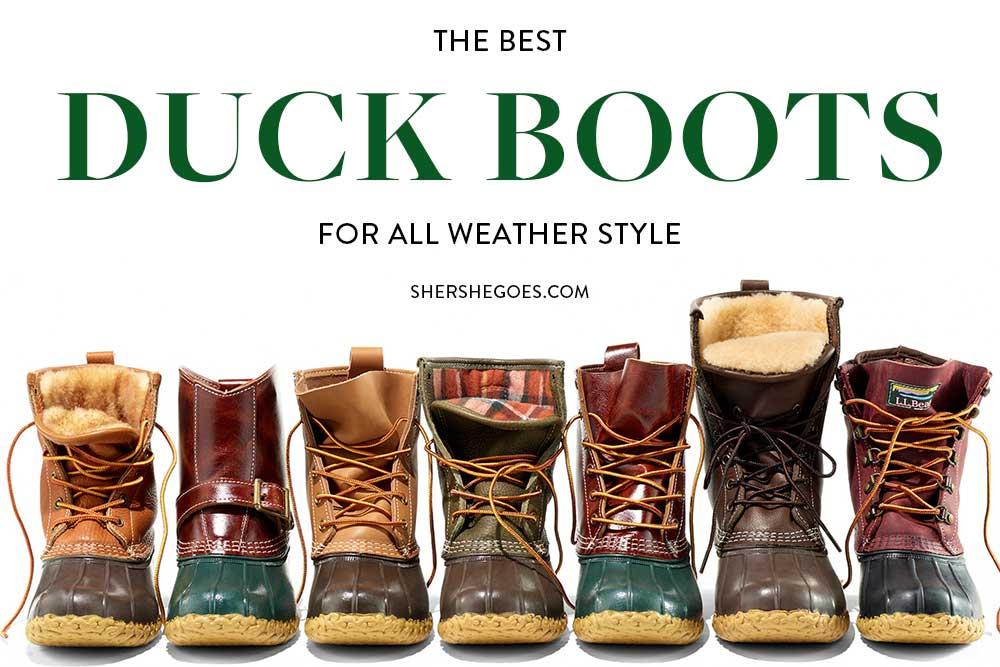 best-duck-boots