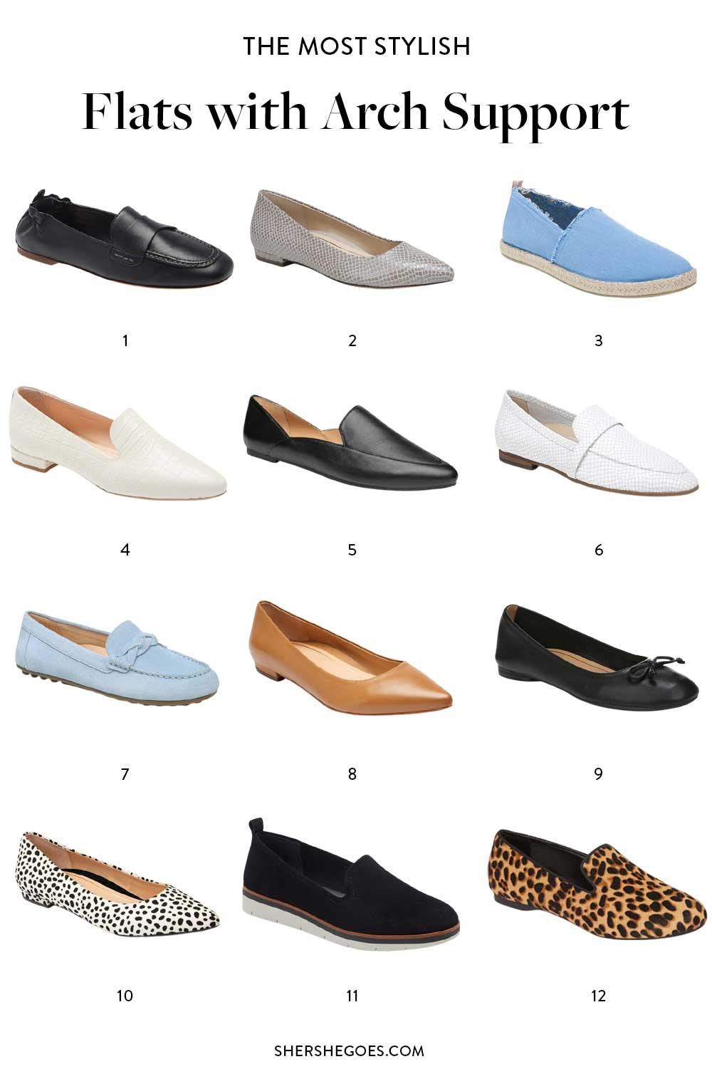 best-flats-with-arch-support