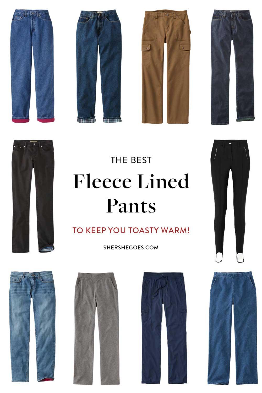 best-fleece-lined-pants