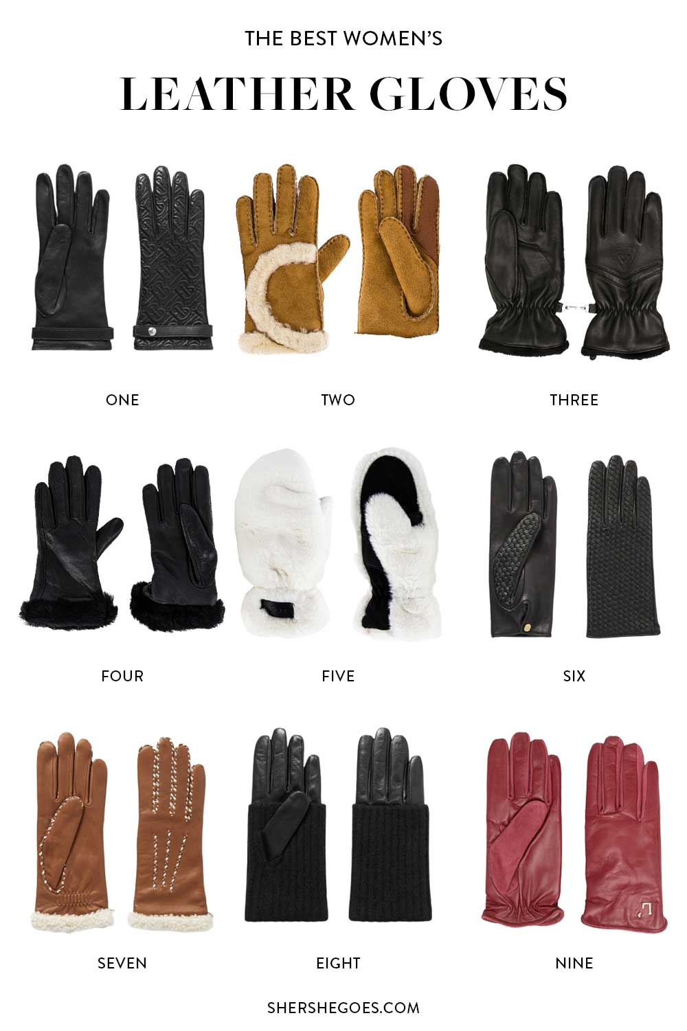 best-leather-gloves-for-women