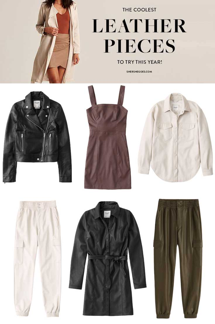 How to Wear Faux Leather: 7 Leather Outfits Ideas for Women (7)