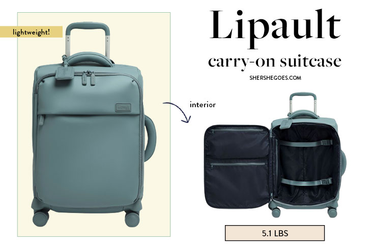 best lightweight carry on bags lipault 21 inch spinner