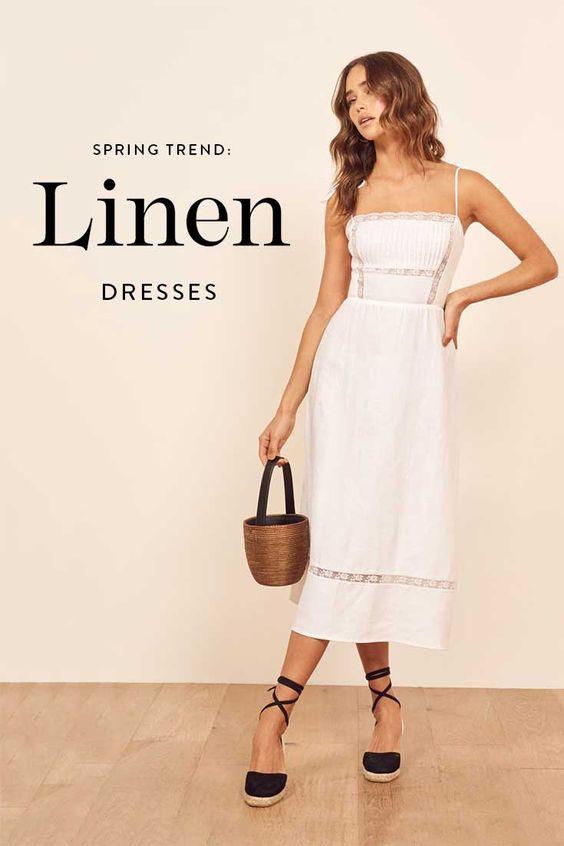 best linen dress