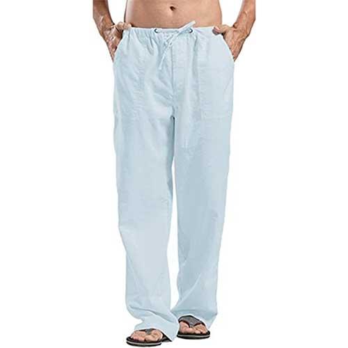 best-loose-lightweight-mens-linen-pants
