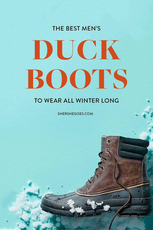 best-mens-duck-boots