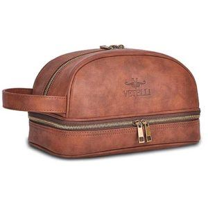 best mens leather toiletry bag