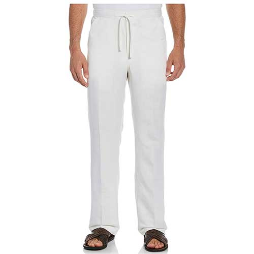 best-mens-linen-pants-with-drawstring-elastic-waist