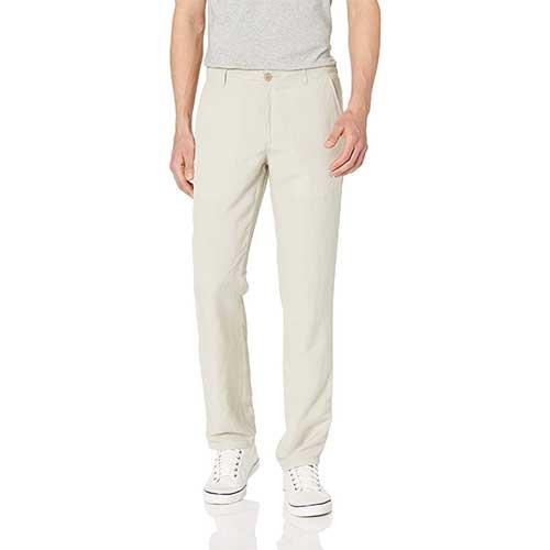 best-mens-plain-linen-pants