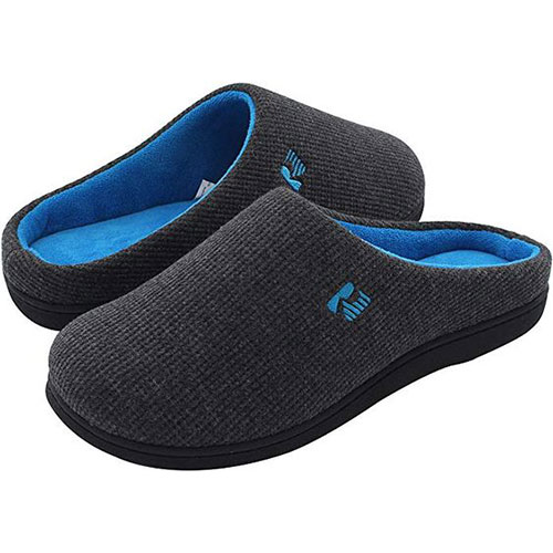best mens slippers with memory foam