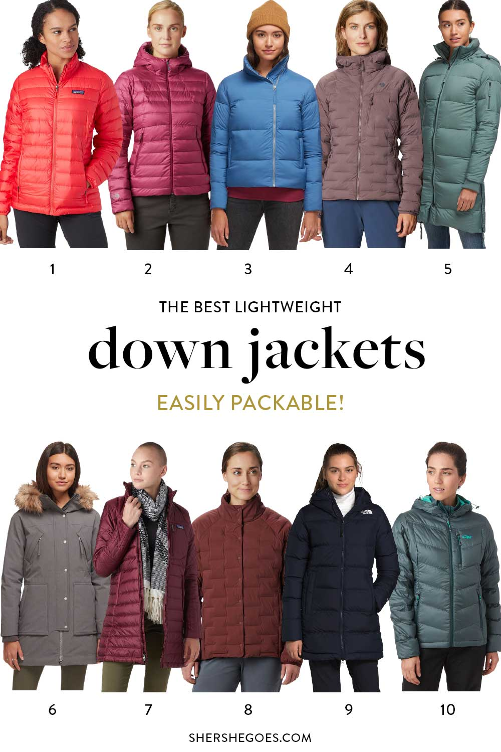 best-packable-down-jackets