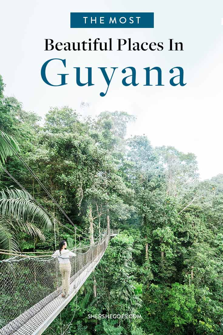 best places to visit in guyana