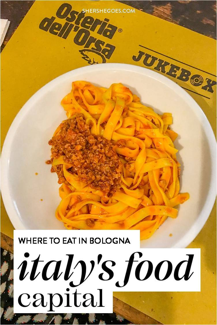Read all about the best restaurants in bologna italy from our Italy vacation! #italy #bologna #italianfood #shershegoes