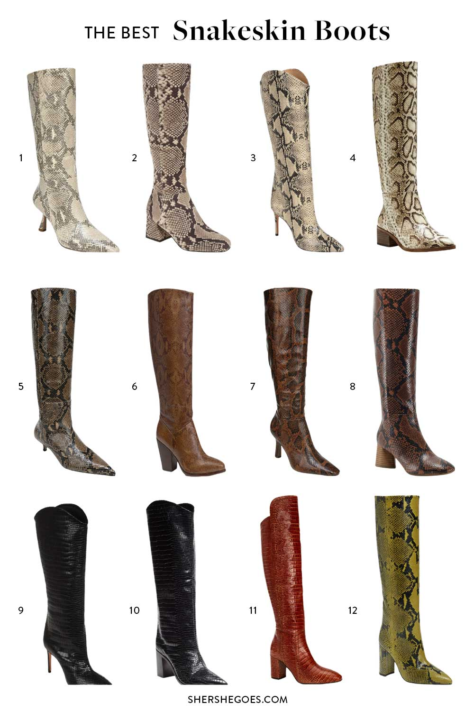 best-snakeskin-boots