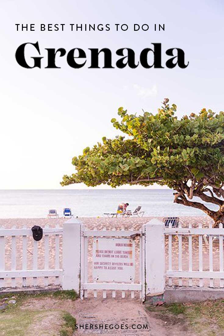 best things to do in grenada west indies